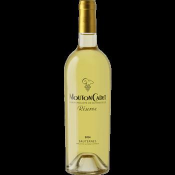 Вино Mouton Cadet Reserve Sauternes, 0.75 л. (ew)