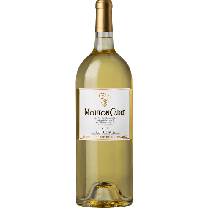 Вино Mouton Cadet Blanc Bordeaux, 1.5 л. (ew)