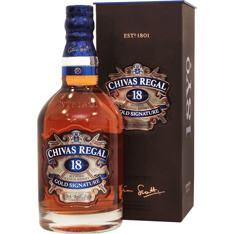 Виски Chivas Regal 18 лет, 0.7 л.