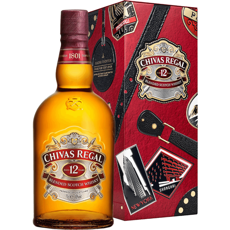 Виски Chivas Regal 12 лет, 0.7 л.