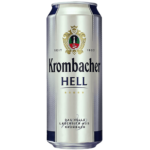 "Пиво ""Krombacher"" Hell, 0.5 л. (5 %)"