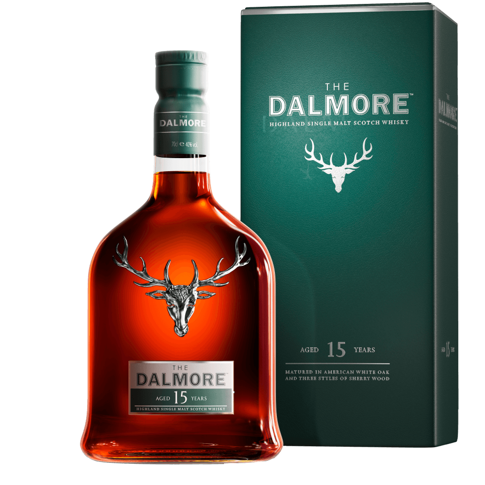 Скотч The Dalmore Aged 15 Years, 0.7 л. (s)