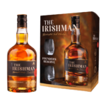 Наборы с бокалами The Irishman Founder's Reserve + 2 стакана, 0.7 л. (s)