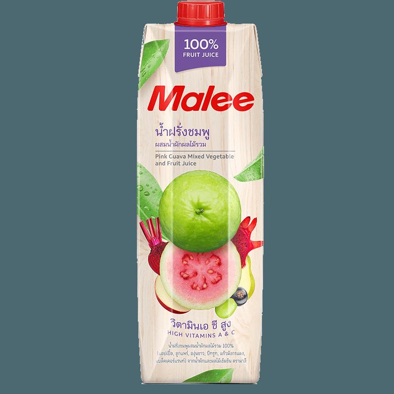 Malee Сок Розовая уава 100% натуральный, 1000 мл.