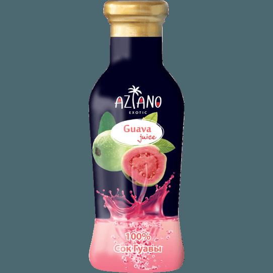 Aziano, 100% сок гуавы, 265 мл