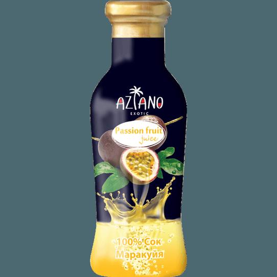 Aziano, 100% сок Маракуйя, 265 мл
