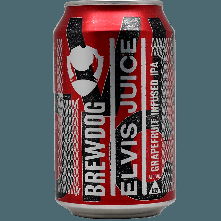 """Крафтовое пиво """"BrewDog"""" Elvis Juice, 0.33 л. (6.5%)"""