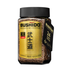 Кофе Bushido Katana Gold 24 karat, арабика, 100 гр.