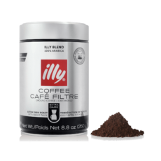 Кофе молотый ILLY Drip Extra Dark Roast, 250 гр.