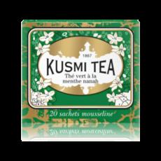 Чай Kusmi Spearmint Green Tea, 2.2 гр х 20 п.