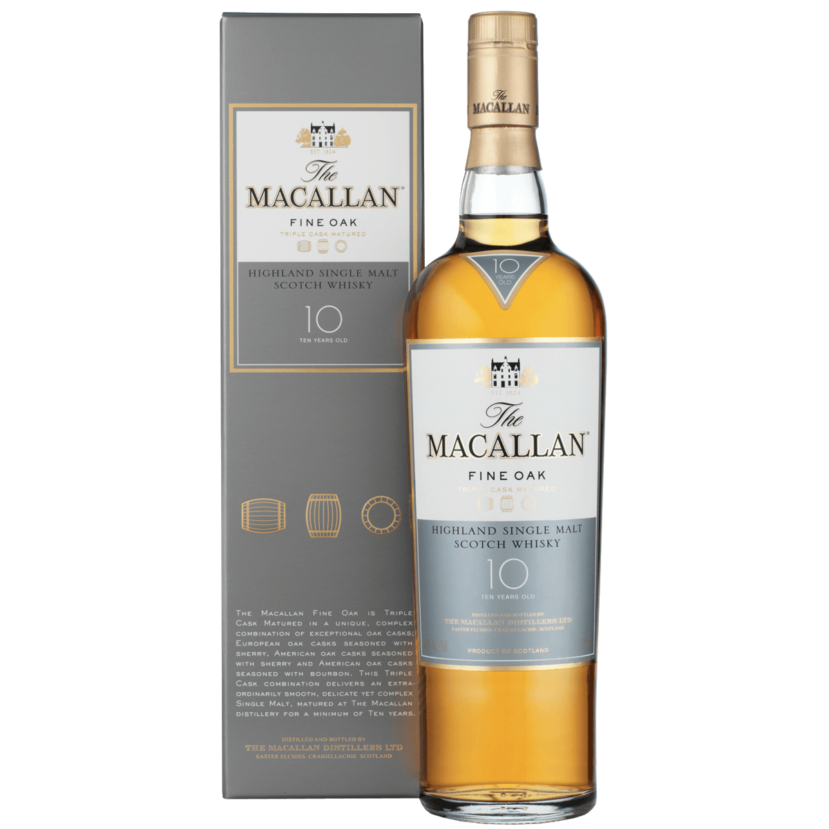 Macallan Fine Oak 10 Years Old, 0.7 л
