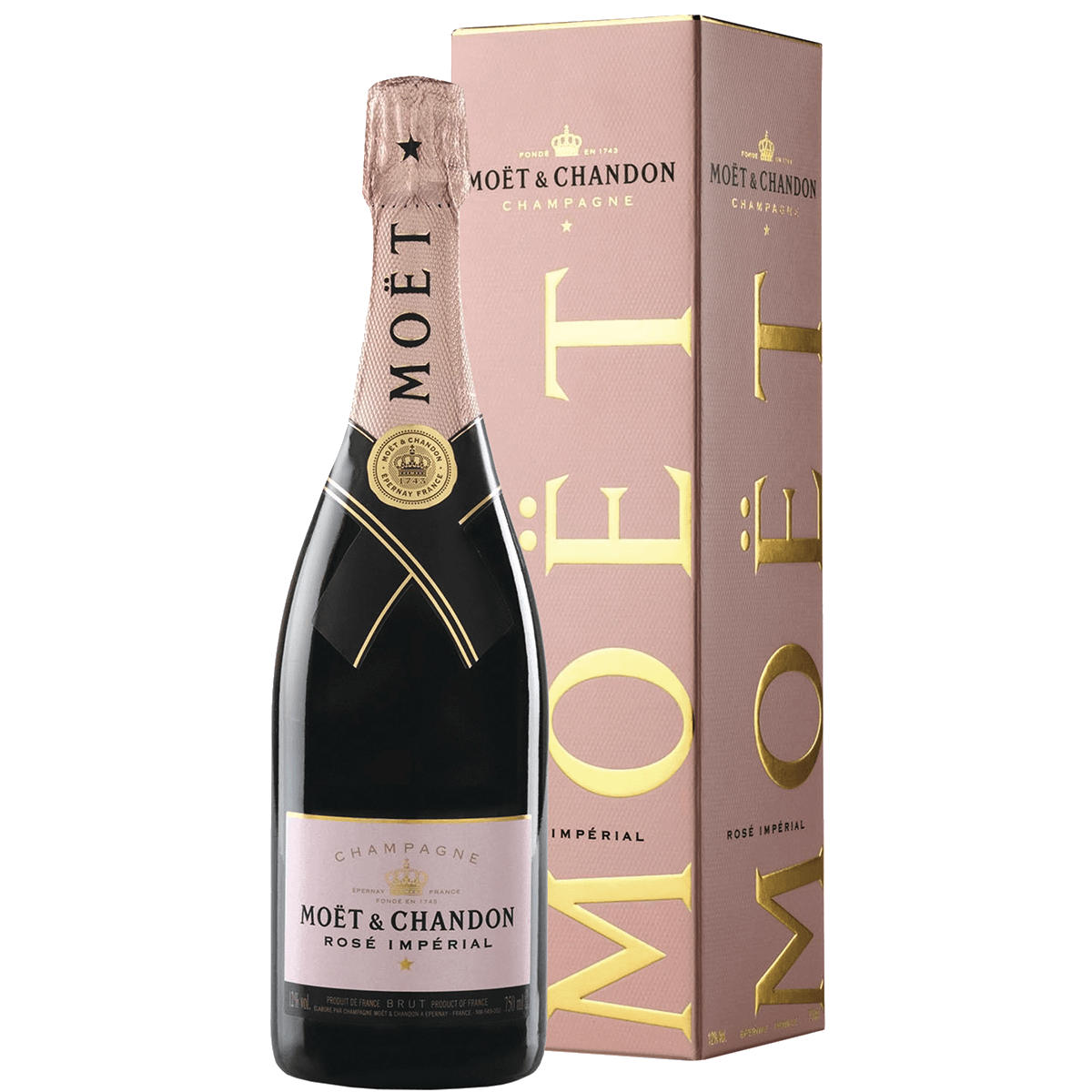 Шампанское Moët & Chandon Brut Imperial Rose, 0.75 л.