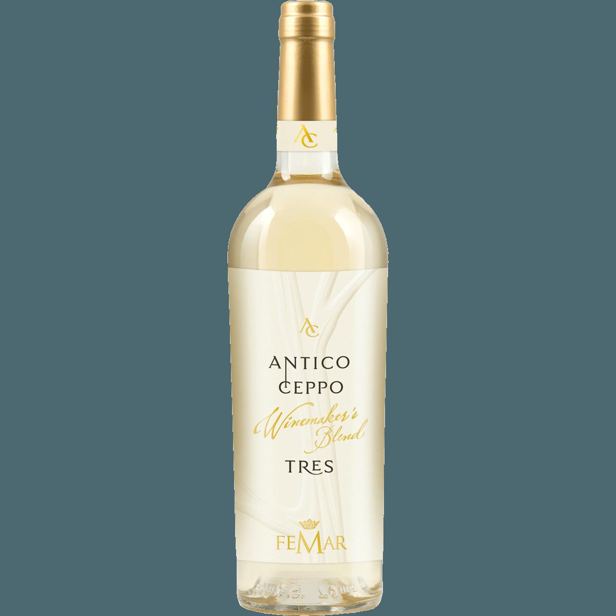 TRES BIANCO Antico Ceppo , (бел.п/сух), 0.75 л