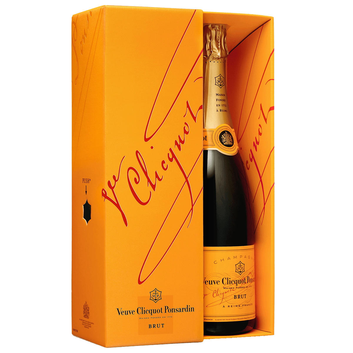 Шампанское Veuve Clicquot Ponsardin Brut, 0.75 л.