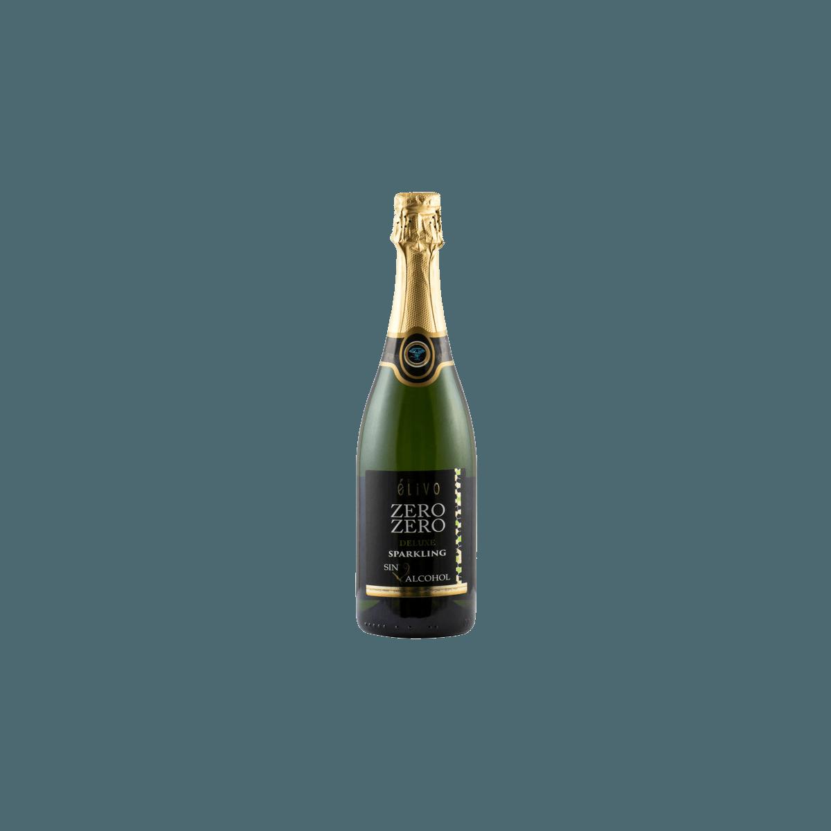 Elivo Zero Zero Deluxe, безалкогольное игристое вино, 0.75 л. (белое, сухое)